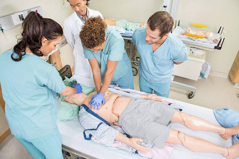 cpr course for healthcare workers